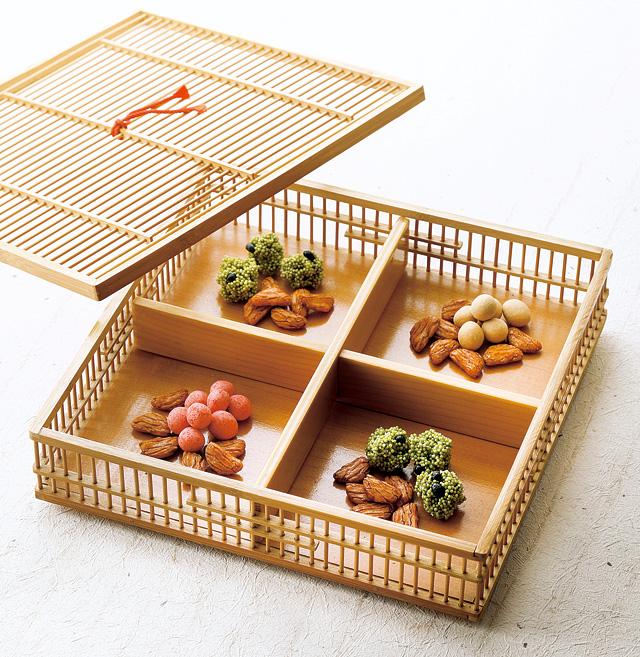 和スイーツの柿の種